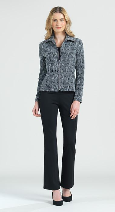Geo Zip Stretch Jacket