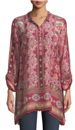 Floral Georgette Tunic