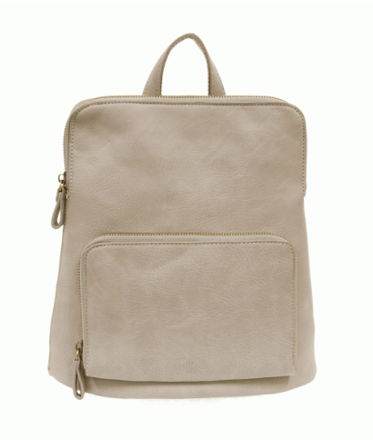 Light Gray Mini Backpack