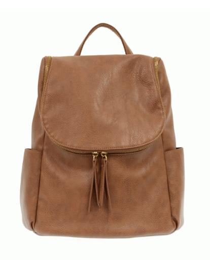 Saddle Zip Top Backpack