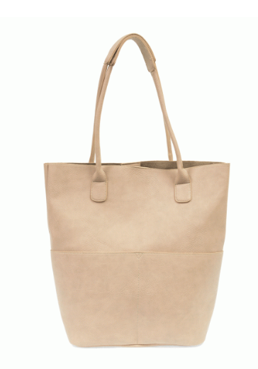 Oyster Front Pocket Tote