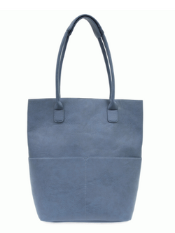 Chambray Front Pocket Tote