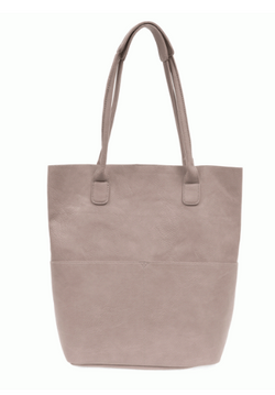 Mystic Gray Front Pocket Tote