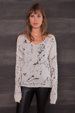 Splatter Cozy Sweater
