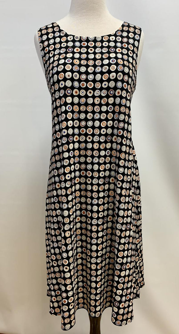 Kandinski Dot Swing Dress