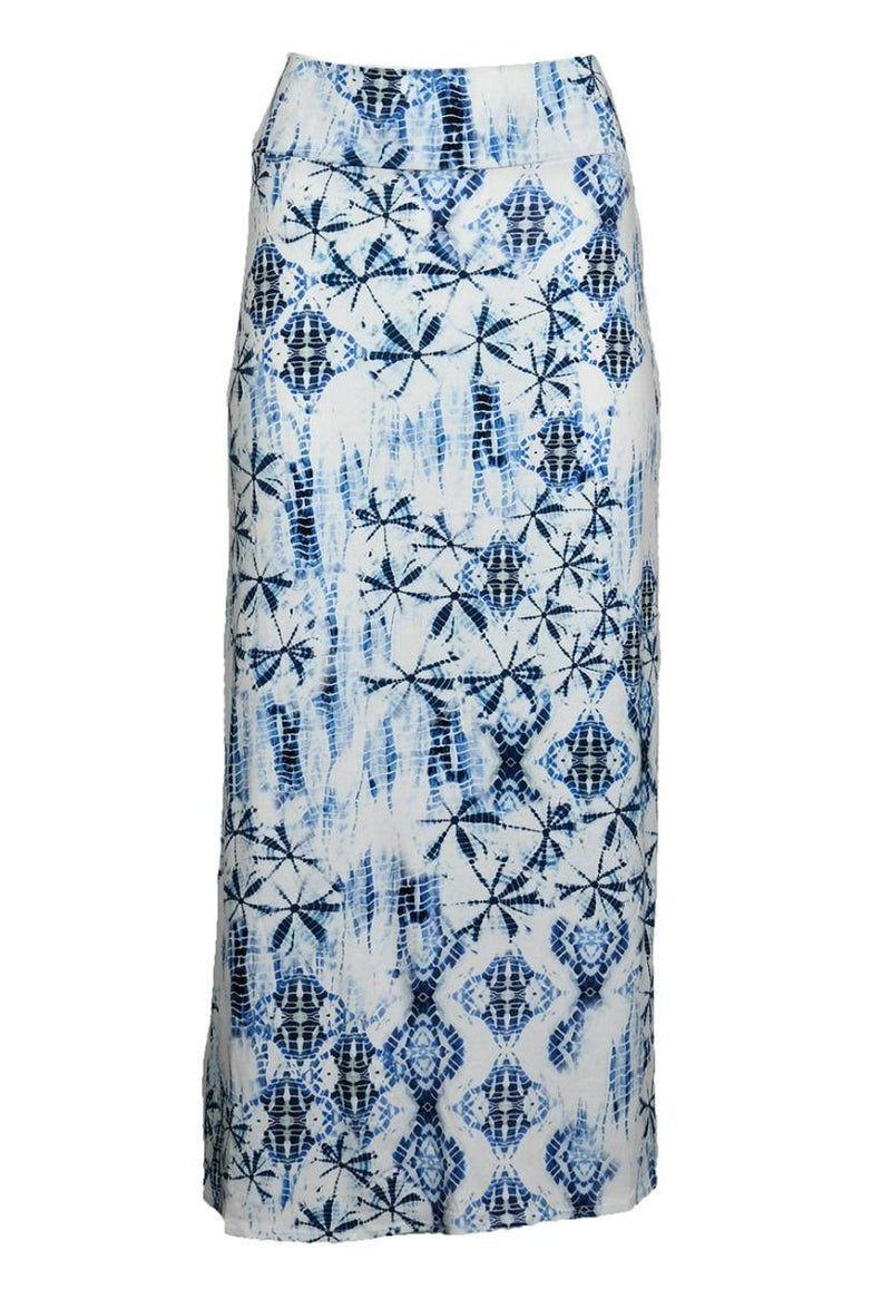 Shibori Long Skirt