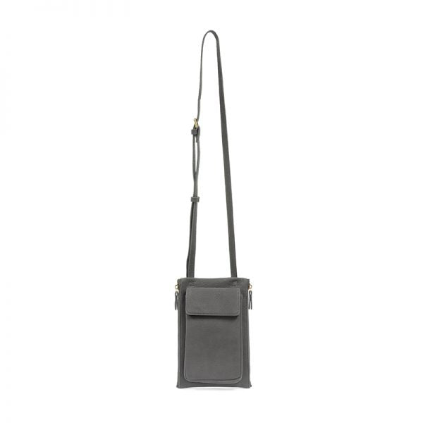 Charcoal Multi Pocket Crossbody