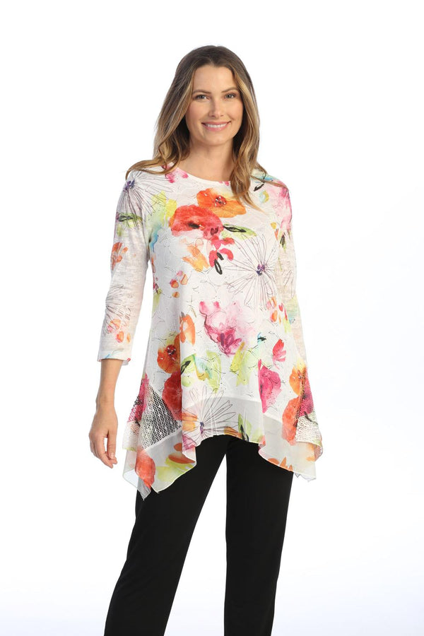 Clara Lace Floral Tunic