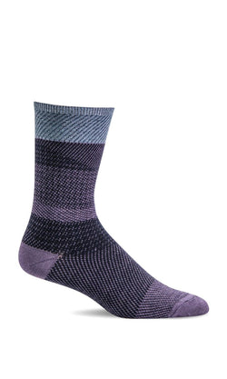 Plum Remix Sock