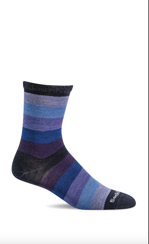 Sky Stripe Merino Sock