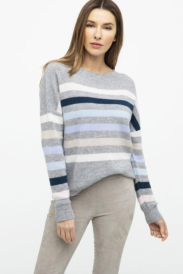 Soft Stripes Cashmere Pullover