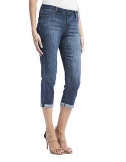 Soft Stretch Roll Capri Jean