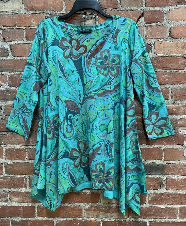 Floral Pop! Tunic