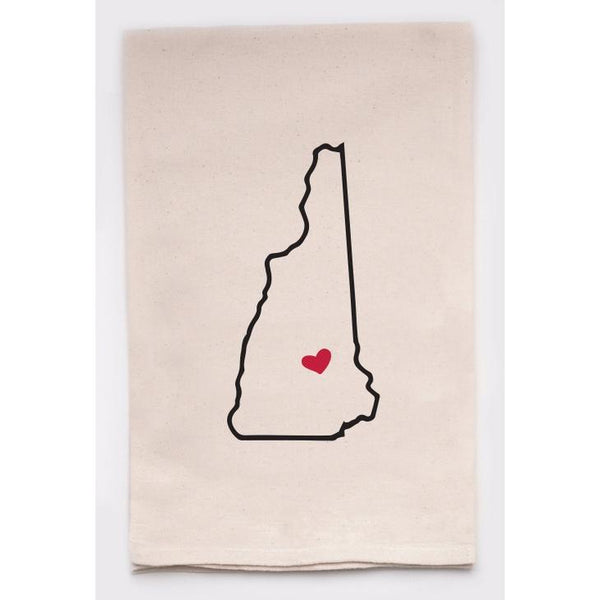 Love NH Tea Towel