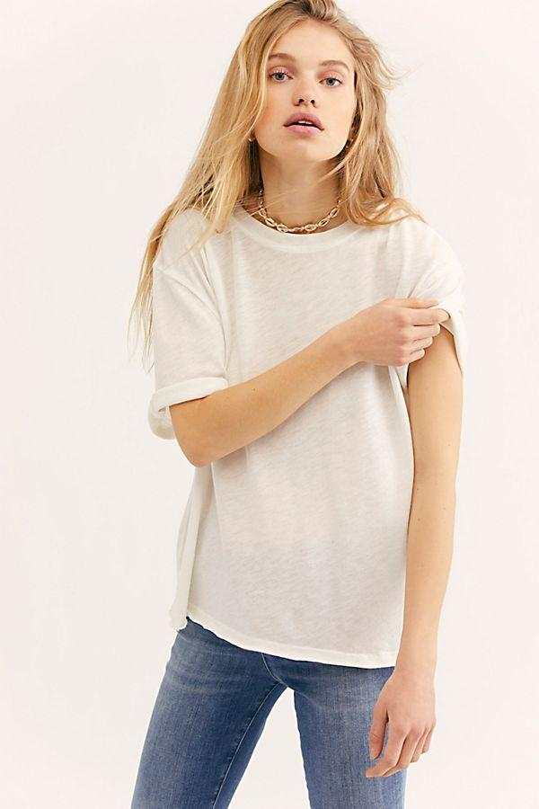 Ivory Relaxed Tee