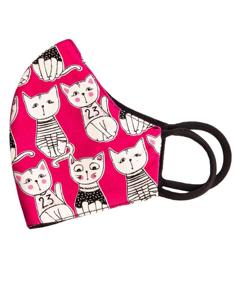 Kids Cats Cotton Face Mask