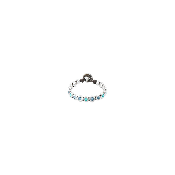 Magic Touch Blue Crystal Bracelet