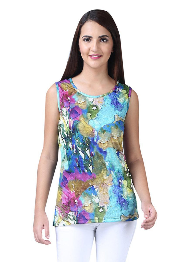 Watercolor Crinkle Tank