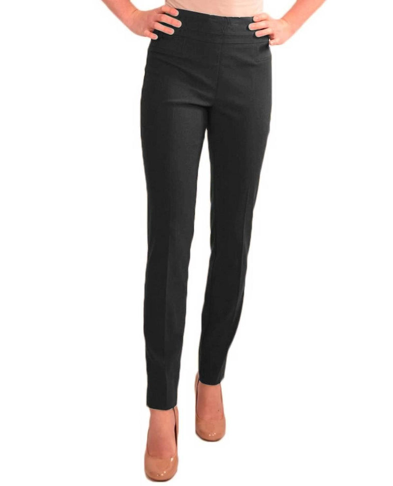 Heather Gray Skinny Pull On Pant
