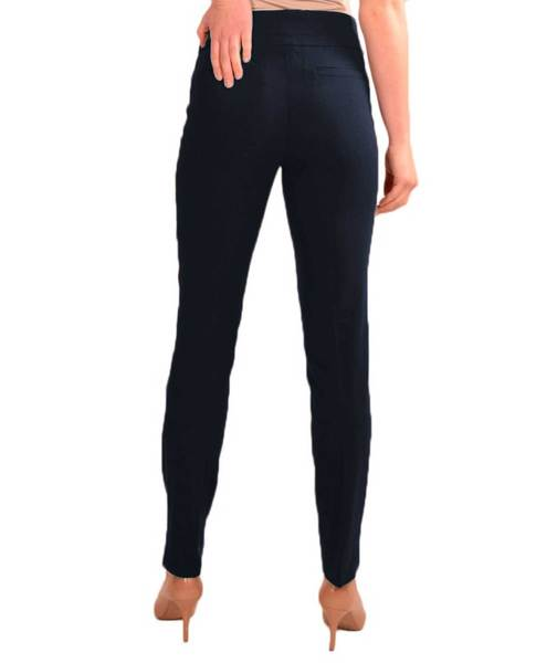 Navy Skinny Pull On Pant