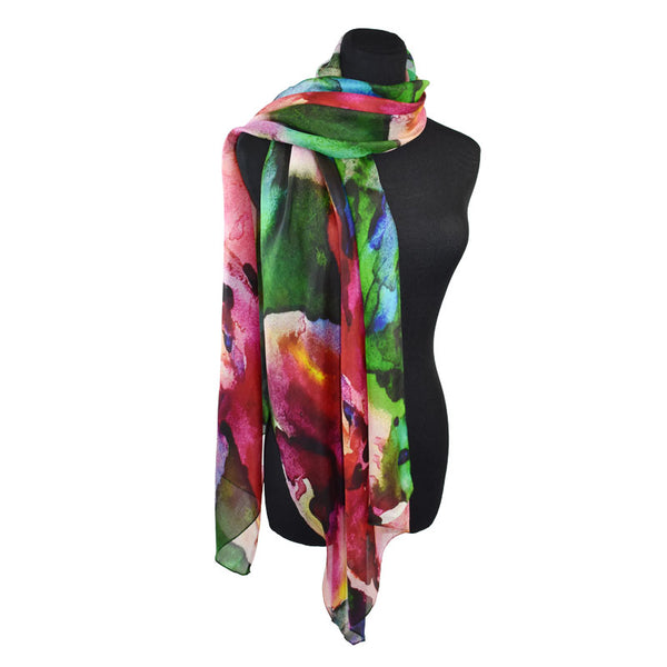 Pascal Floral Silk Scarf