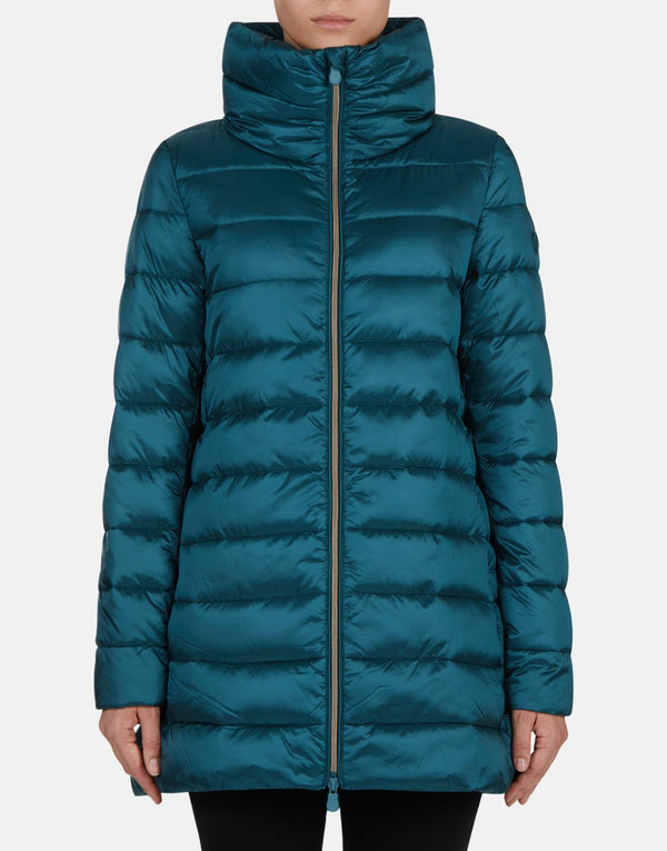 Evergreen Mid Down Free Coat
