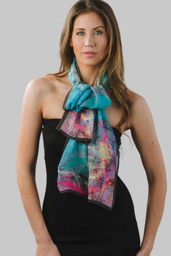 Aloka Watercolor Scarf