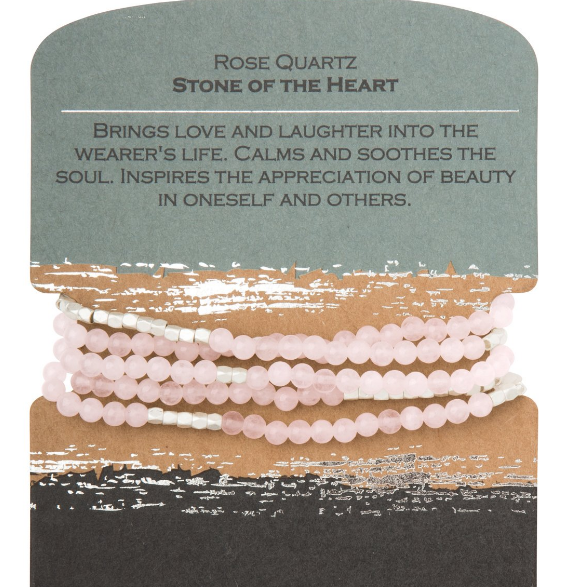 Rose Quartz - Stone of the Heart Wrap