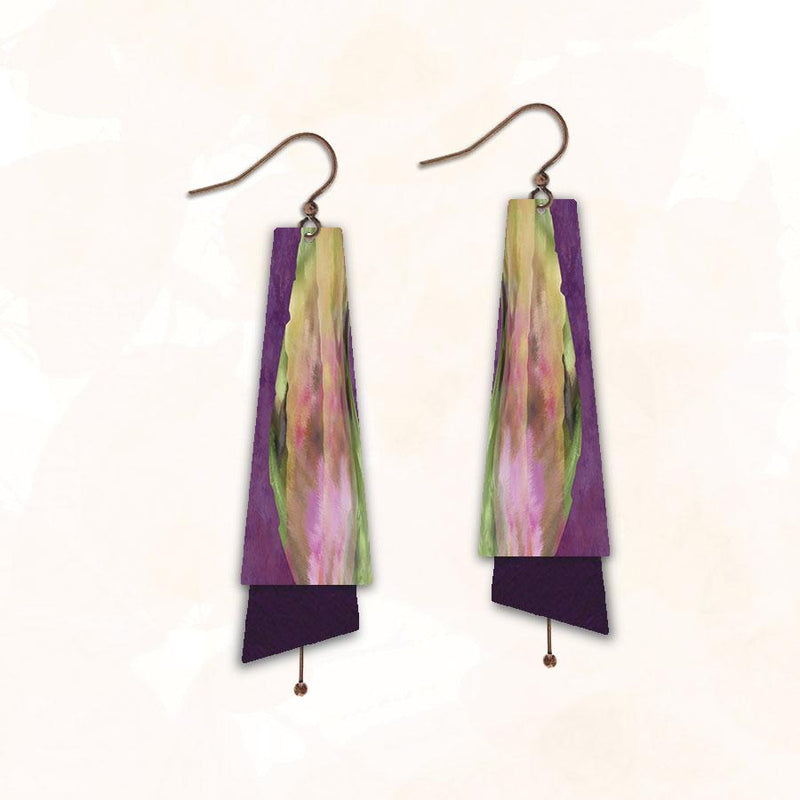 Eggplant Wonder Earring
