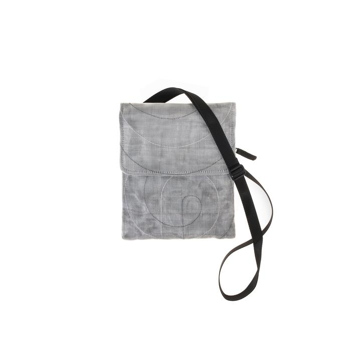 Fair Trade Gray Passport Bag