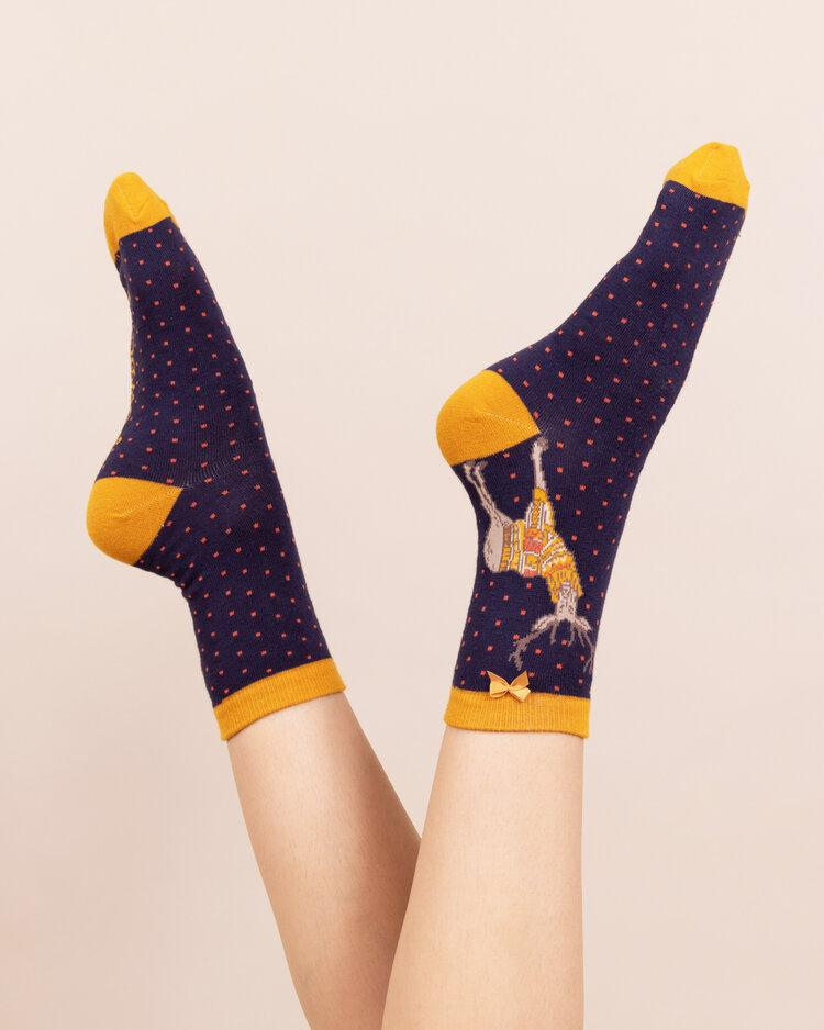 Stag Bamboo Sock