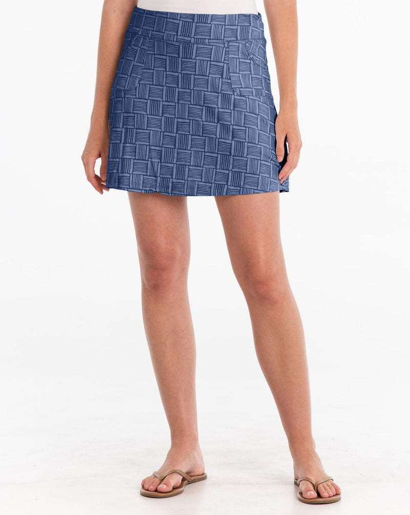 Basketweave Skort