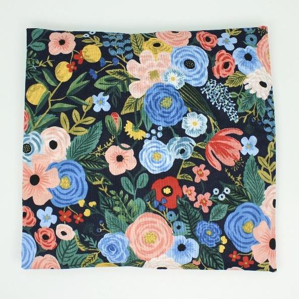 Navy Floral Small Heat Wrap