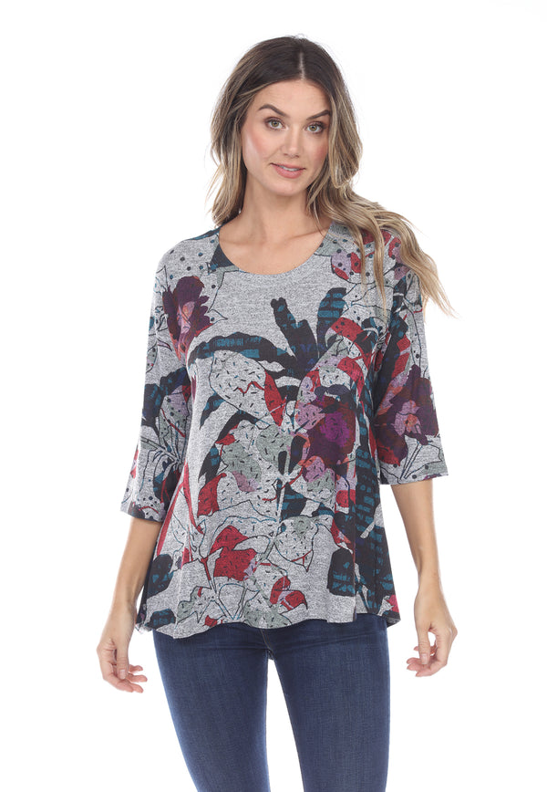Hibiscus Swing Hilo Top