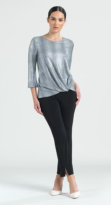 Silver Statement Top