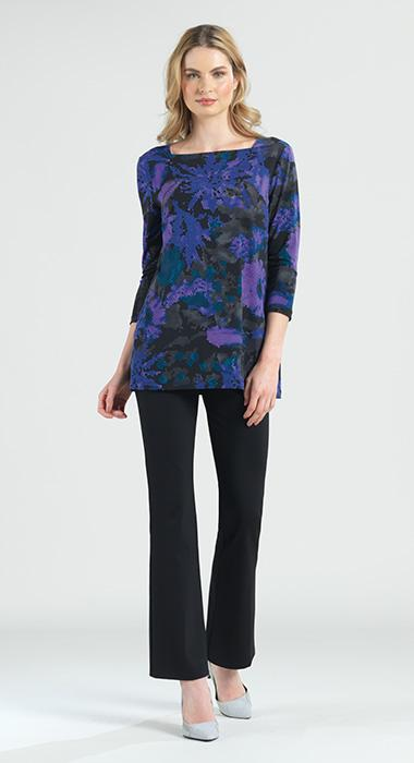 Purple Abstract Tunic