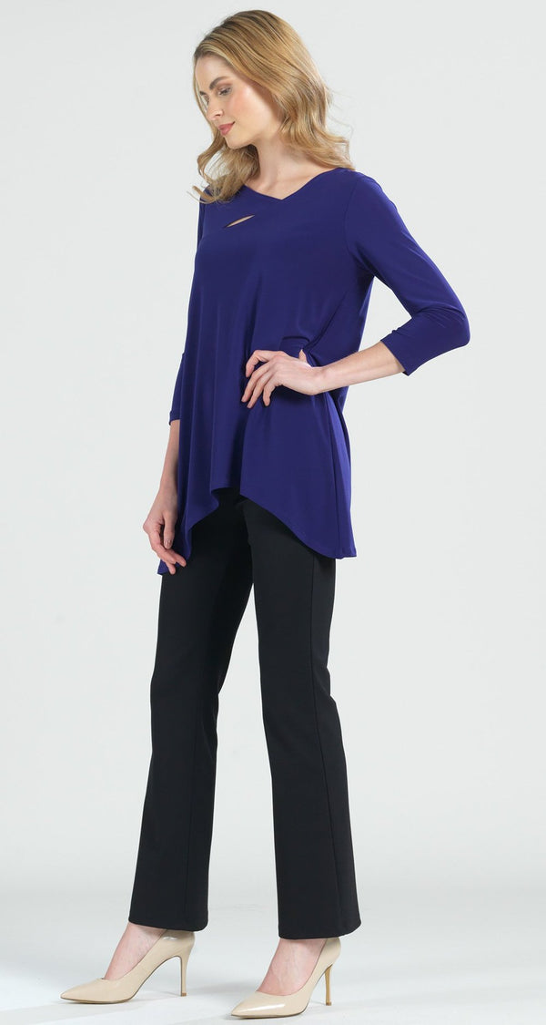 Purple Cutout Tunic