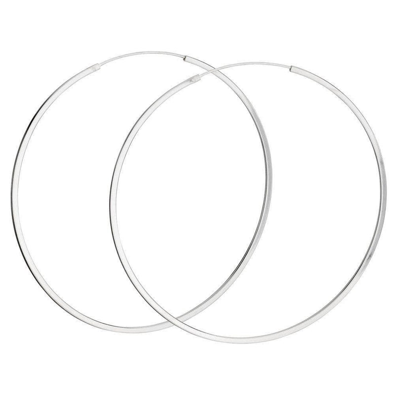 Castle Hill Sterling Hoop Earring