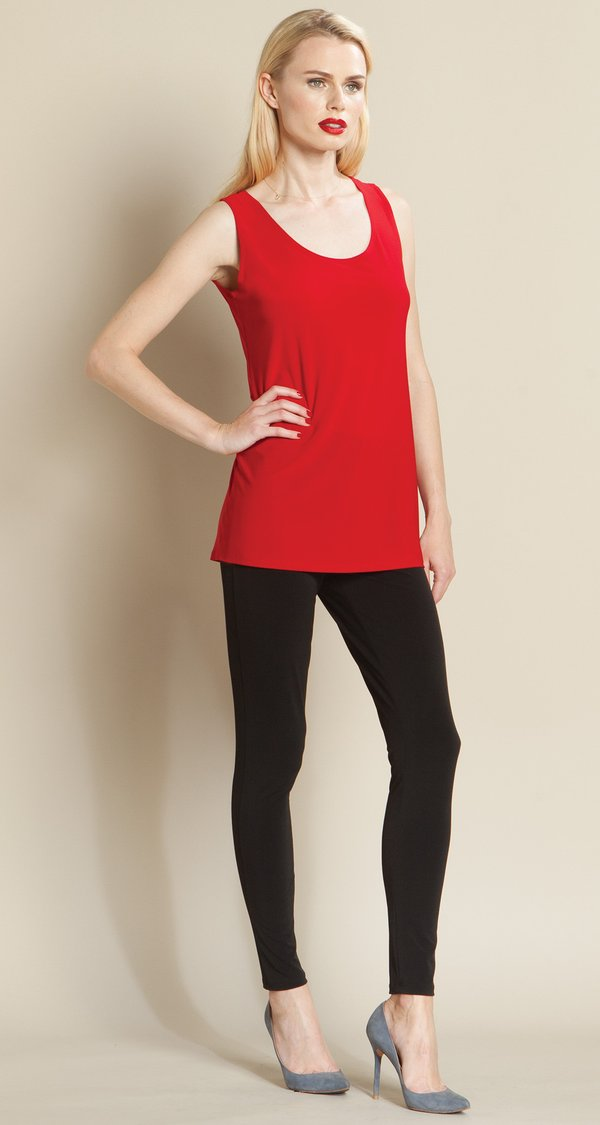 Red Mid Length Tank