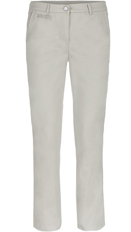 Cotton Straight Leg Pant