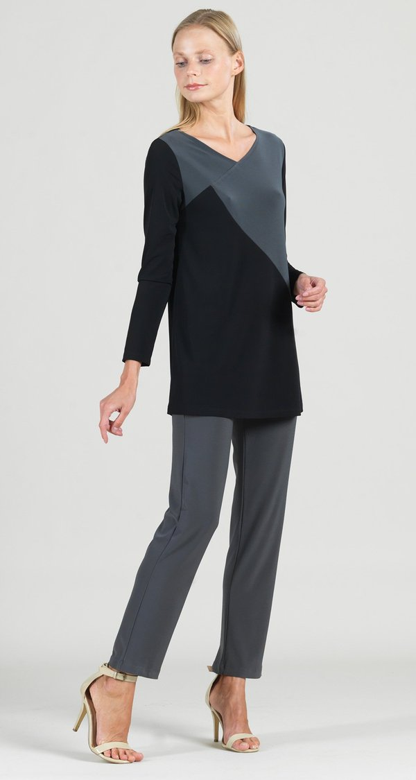 Colorblock Tunic