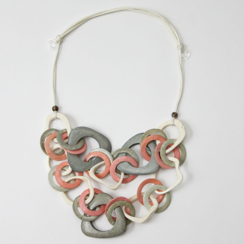Dalia Peach Necklace