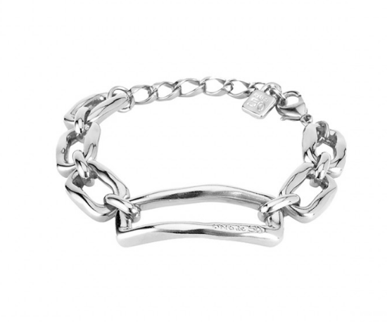 Rectangular Chain Link Bracelet