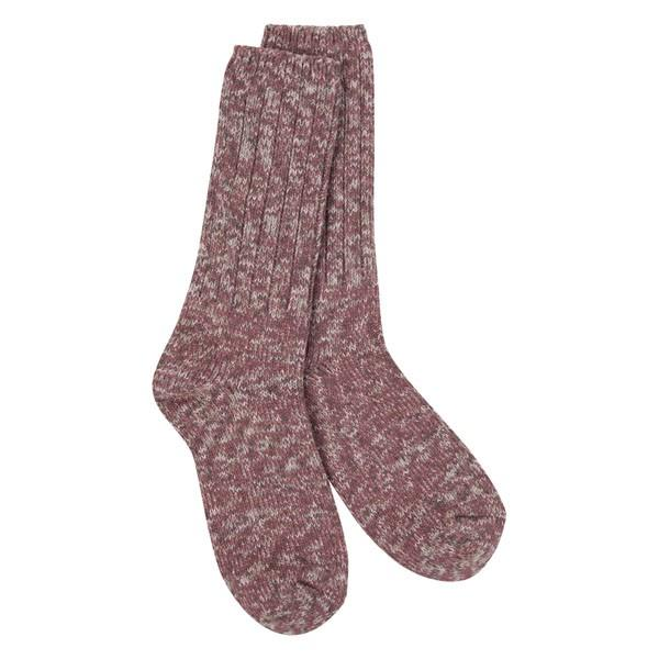 Earth Tweed Rib Crew Sock
