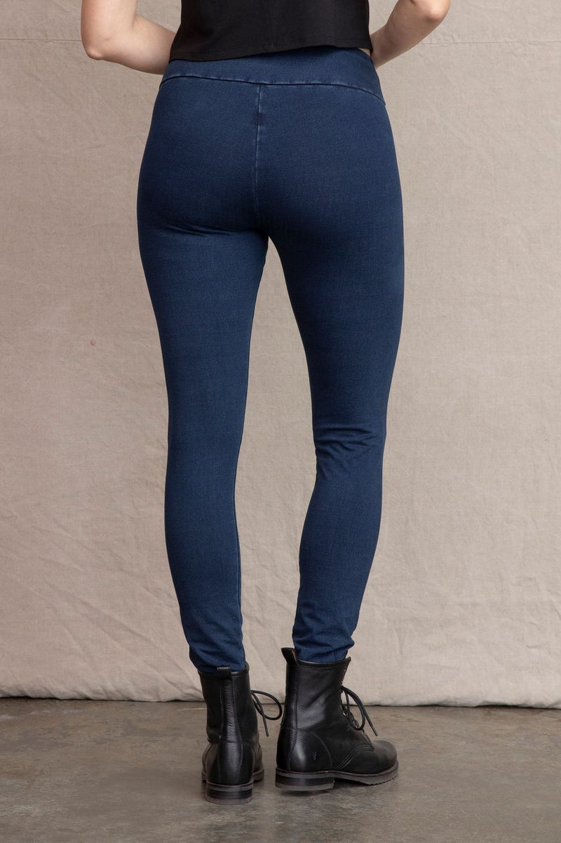Denim Ankle Legging