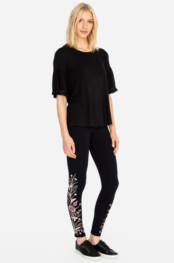 Rosa Embroidered Legging