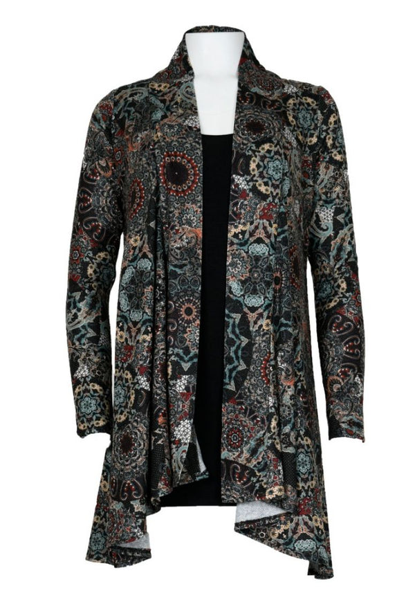 Kaleidoscope Sweater Jacket