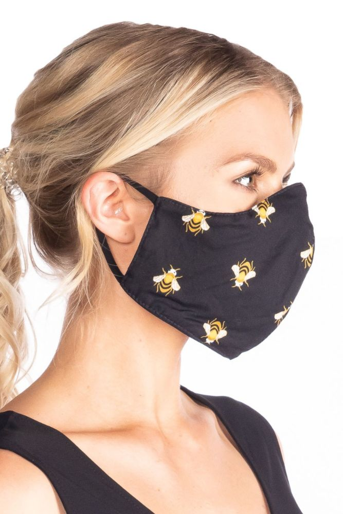Bees Face Mask