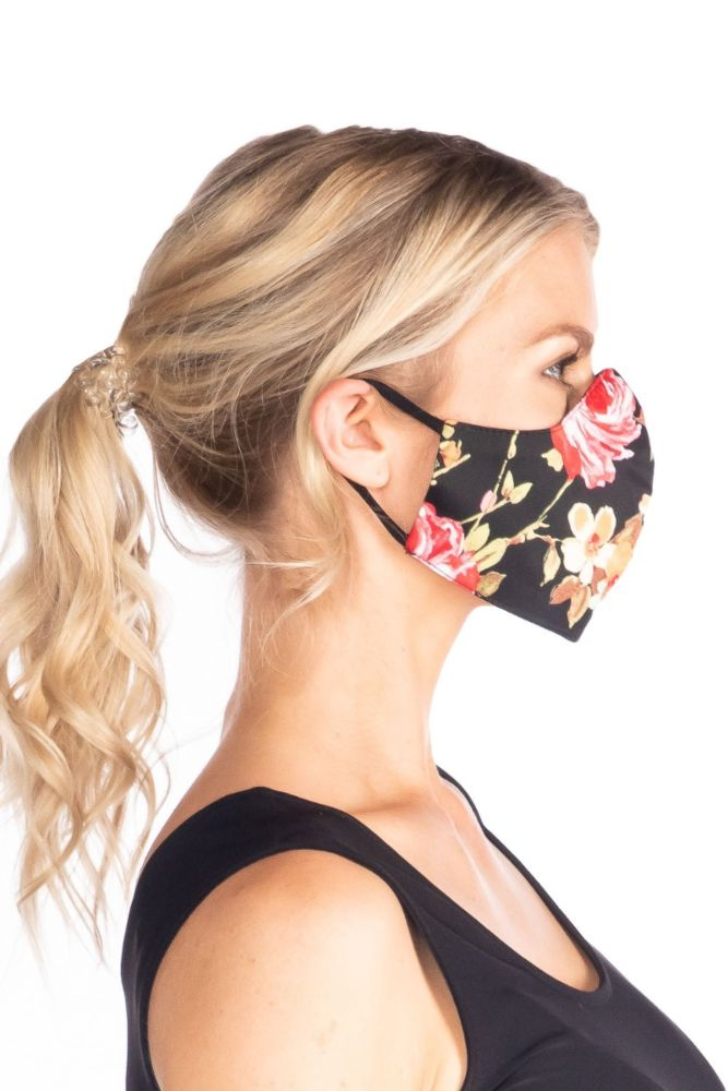Multi Floral Face Mask