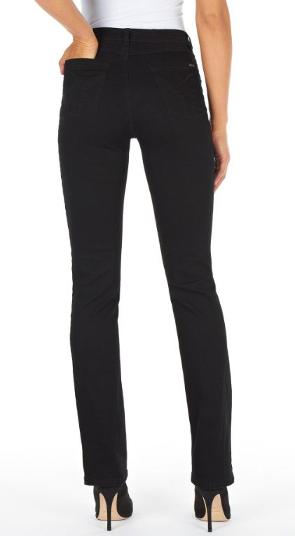 FDJ Supreme Black Olivia Straight Jean
